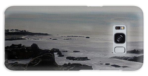 Cambria Tidal Pools Galaxy Case by Ian Donley