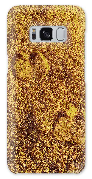 Camel Prints In The Sand Galaxy Case
