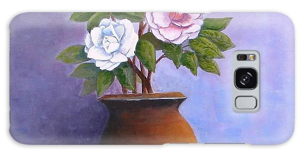 Camellia Bouquet Galaxy Case