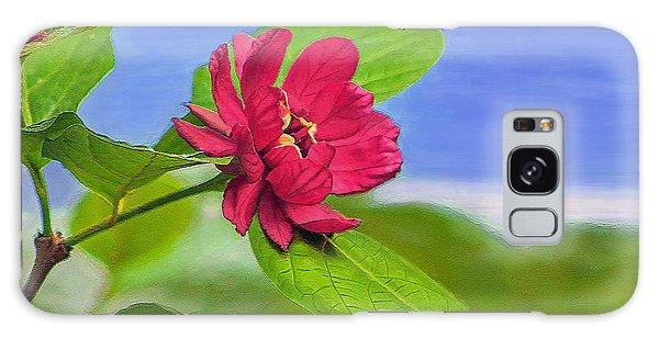 Camellia Galaxy Case by Marion Johnson