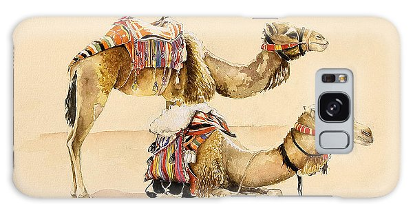 Camel Galaxy S8 Case - Camels From Petra by Alison Cooper