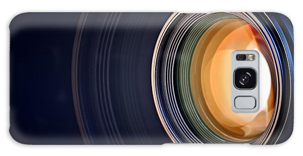 Camera Galaxy Case - Camera Lens Background by Johan Swanepoel