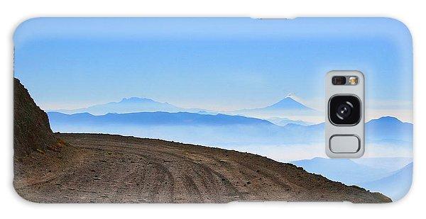 Camino En Volcan Nevado De Toluca Galaxy Case