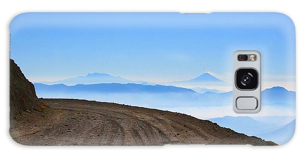 Galaxy Case featuring the photograph Camino En Volcan Nevado De Toluca by Francisco Pulido
