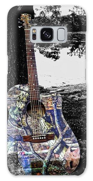 Camo Guitar Galaxy Case