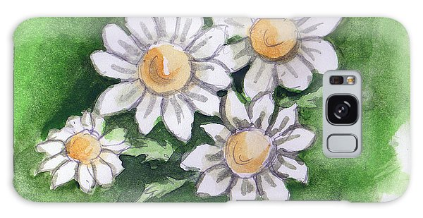 Camomile Flowers Galaxy Case
