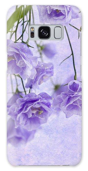 Campanella Blossoms Suspended - Macro Galaxy Case by Sandra Foster