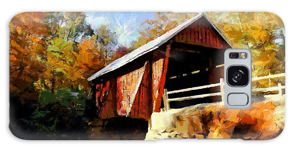 Campbell's Covered Bridge Galaxy Case