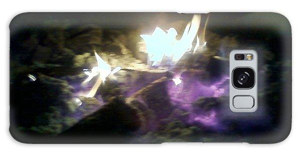 Campfire By Angelia Clay Galaxy Case
