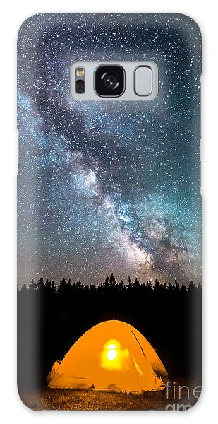 Camping Under The Stars Galaxy Case