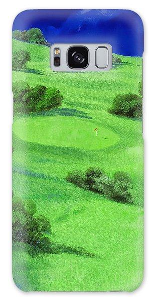 Golf Galaxy S8 Case - Campo Da Golf Di Notte by Guido Borelli
