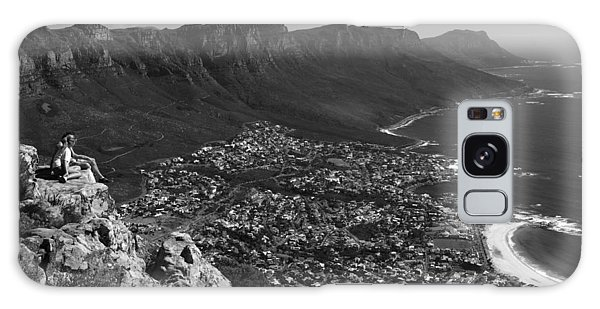 Camps Bay View Cape Town Galaxy Case