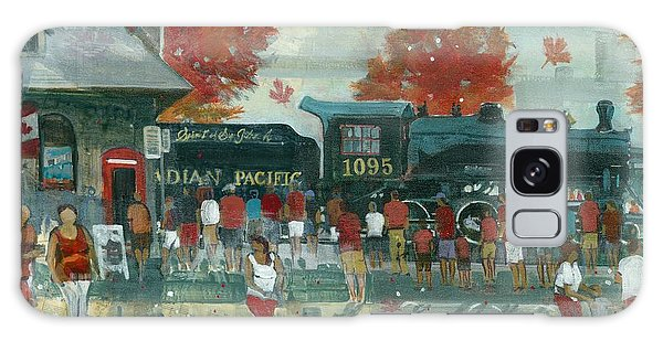 Galaxy Case featuring the painting Canada Day 2013 by David Gilmore
