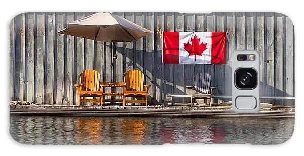 Canada Day In Muskoka Galaxy Case