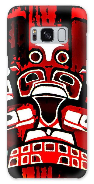 Canada - Inuit Village Totem Galaxy Case