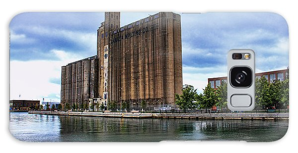 Canada Malting Silos Galaxy Case by Nicky Jameson
