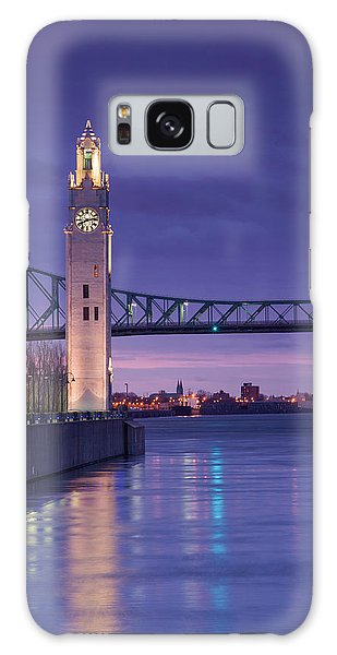 Quebec City Galaxy Case - Canada, Montreal, Old Port Clock Tower by Walter Bibikow