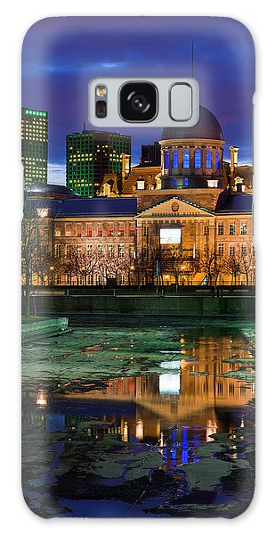 Quebec City Galaxy Case - Canada, Montreal, Old Port, Marche by Walter Bibikow