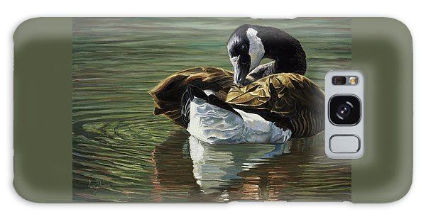 Geese Galaxy S8 Case - Canadian Goose by Lucie Bilodeau