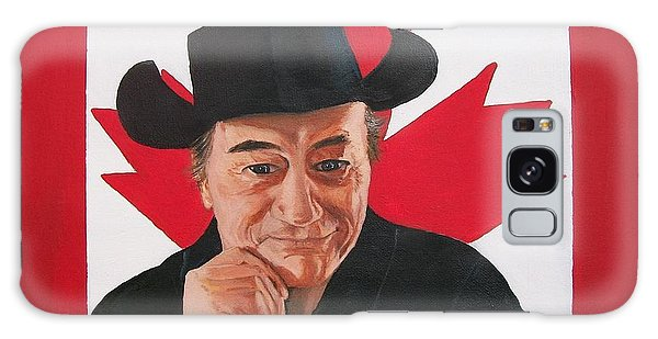 Canadian Icon Stompin' Tom Conners  Galaxy Case by Sharon Duguay