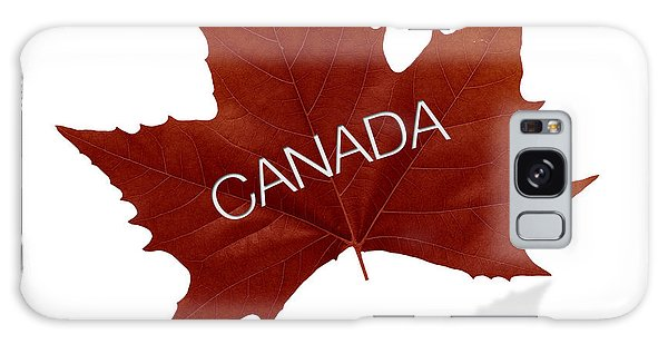 Canada Goose Galaxy Case - Canadian Maple Leaf by Aged Pixel
