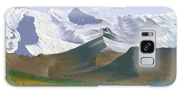 Canadian Rockies Galaxy Case by Terry Frederick