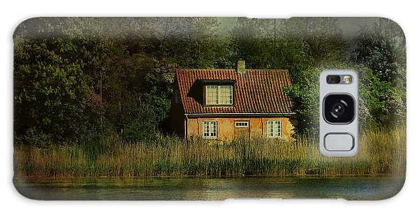 Canal Cottage Galaxy Case
