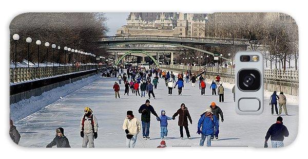 Canal Skate I Galaxy Case