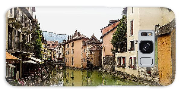 Canal View Number 1 Annecy France Galaxy Case