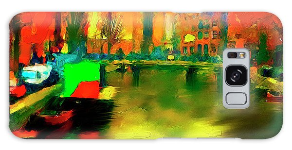 Canals Of Amsterdam Galaxy Case