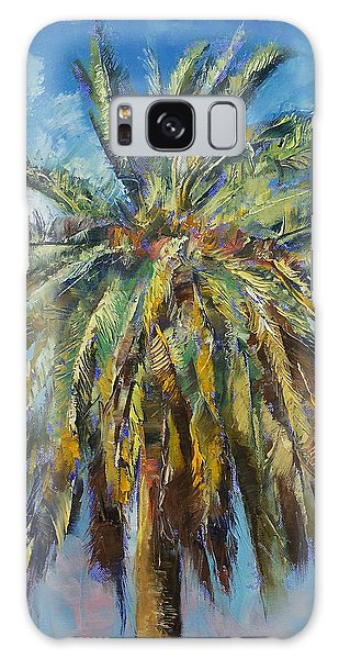 Canary Island Date Palm Galaxy Case