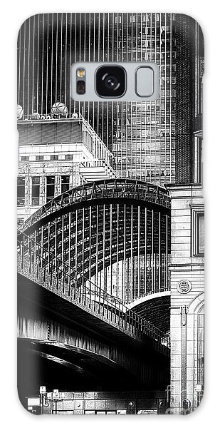 Canary Wharf Noir3 Galaxy Case by Jack Torcello