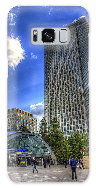 Canary Wharf Station London Galaxy Case