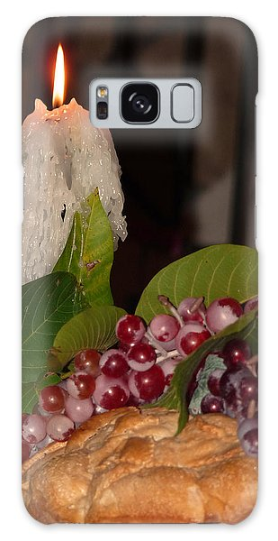 Candle And Grapes Galaxy Case