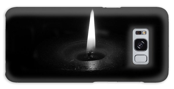 Candle B-w Galaxy Case
