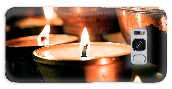 candle light ZUTHRUL PHUG MONASTERY Milarepas Cave Galaxy Case