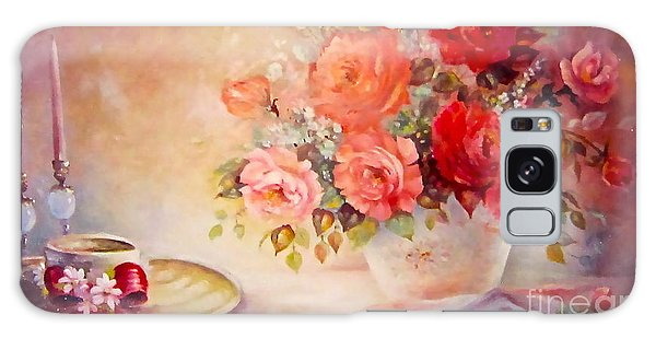 Candlelight Roses And Hat Galaxy Case