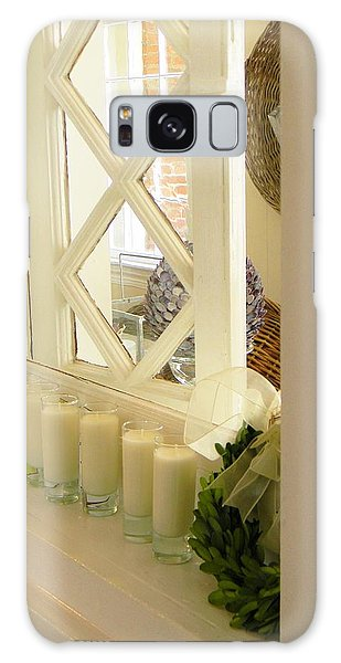Candles And Wicker And Window Galaxy Case by Jean Goodwin Brooks