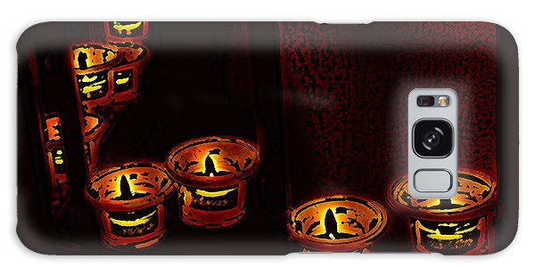 Candles For The Evening Galaxy Case by Kathleen Stephens