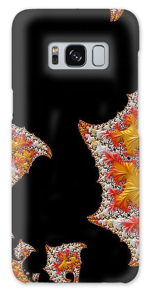 Candy Corn Galaxy Case by Susan Maxwell Schmidt