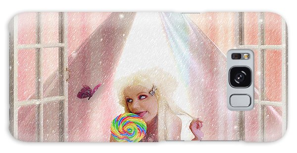Candy Kisses Galaxy Case by Liane Wright