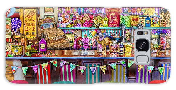 Shelves Galaxy Case - Candy Shop by MGL Meiklejohn Graphics Licensing