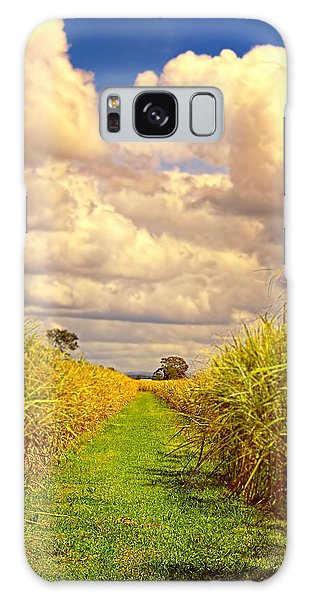 Cane Fields Galaxy Case by Wallaroo Images