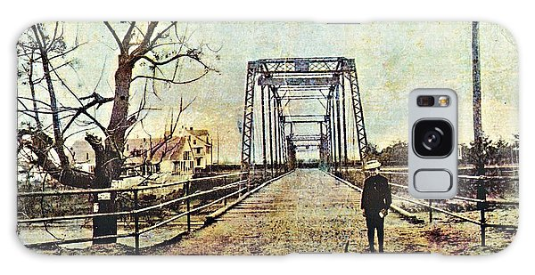 Cane River Bridge C1909 Galaxy Case