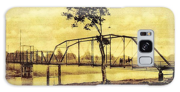 Cane River Lake And Bridge C1921 Galaxy Case