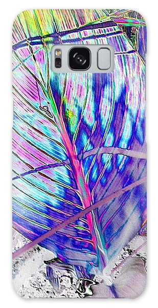 Canna Leaf Galaxy Case