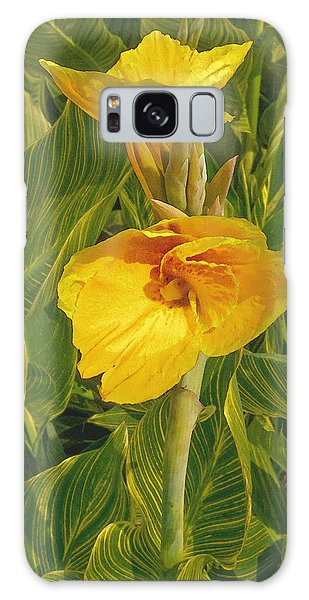 Canna Lily Artified Galaxy Case