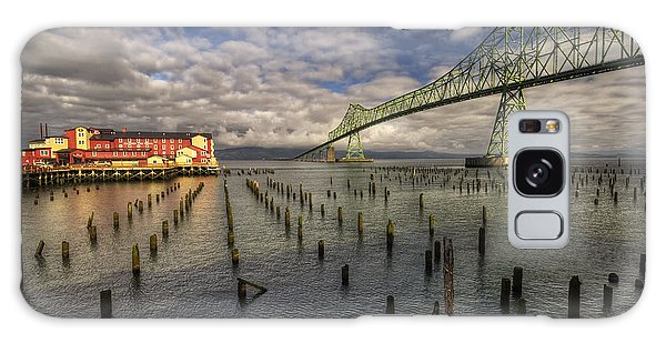 Cannery Pier Hotel And Astoria Bridge Galaxy Case