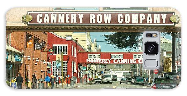 Cannery Row Monterey California Galaxy Case