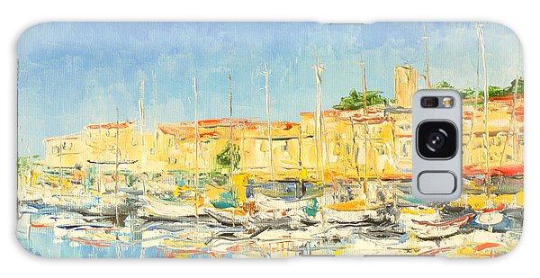 Cannes Harbour Galaxy Case